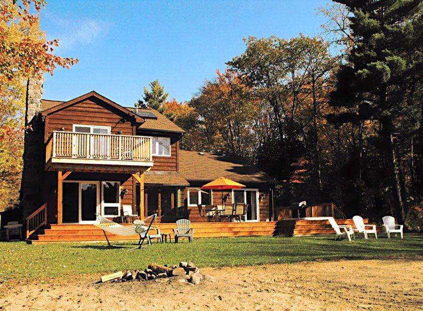 Trenanthia Cottage on Sparrow Lake Muskoka, Ontario