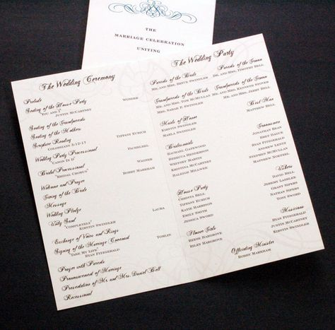 don\u0027t forget the wedding program ceremony, wedding party, proposal - party proposal