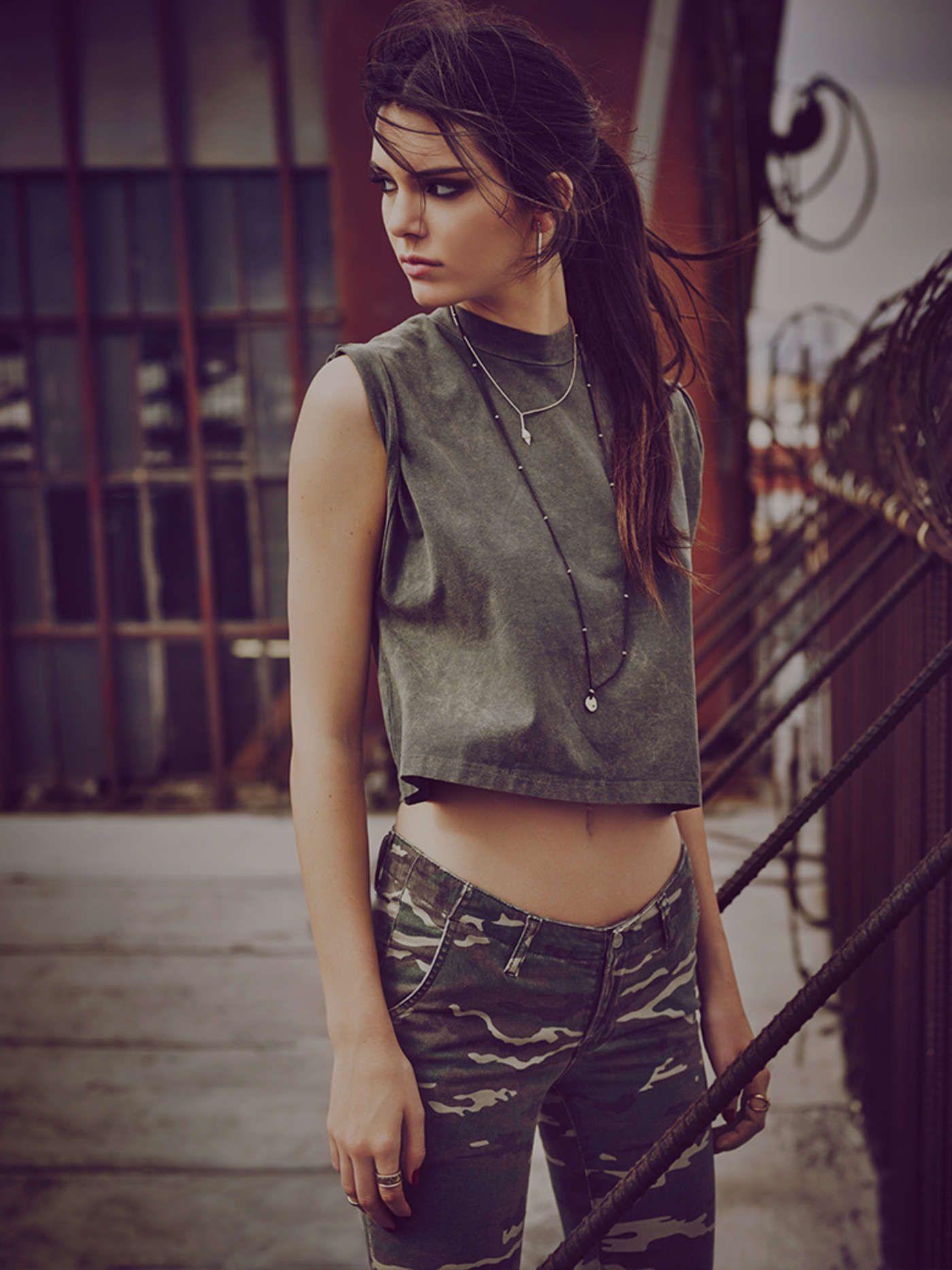 61baa7a963a Kendall Jenner - Penshoppe Urban Rebels Photoshoot 2015