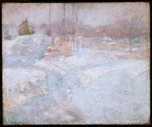 John Henry Twachtman: Winter, oil on canvas - the Phillips collection - Explore collections and stories from around the world with Google Arts & Culture.