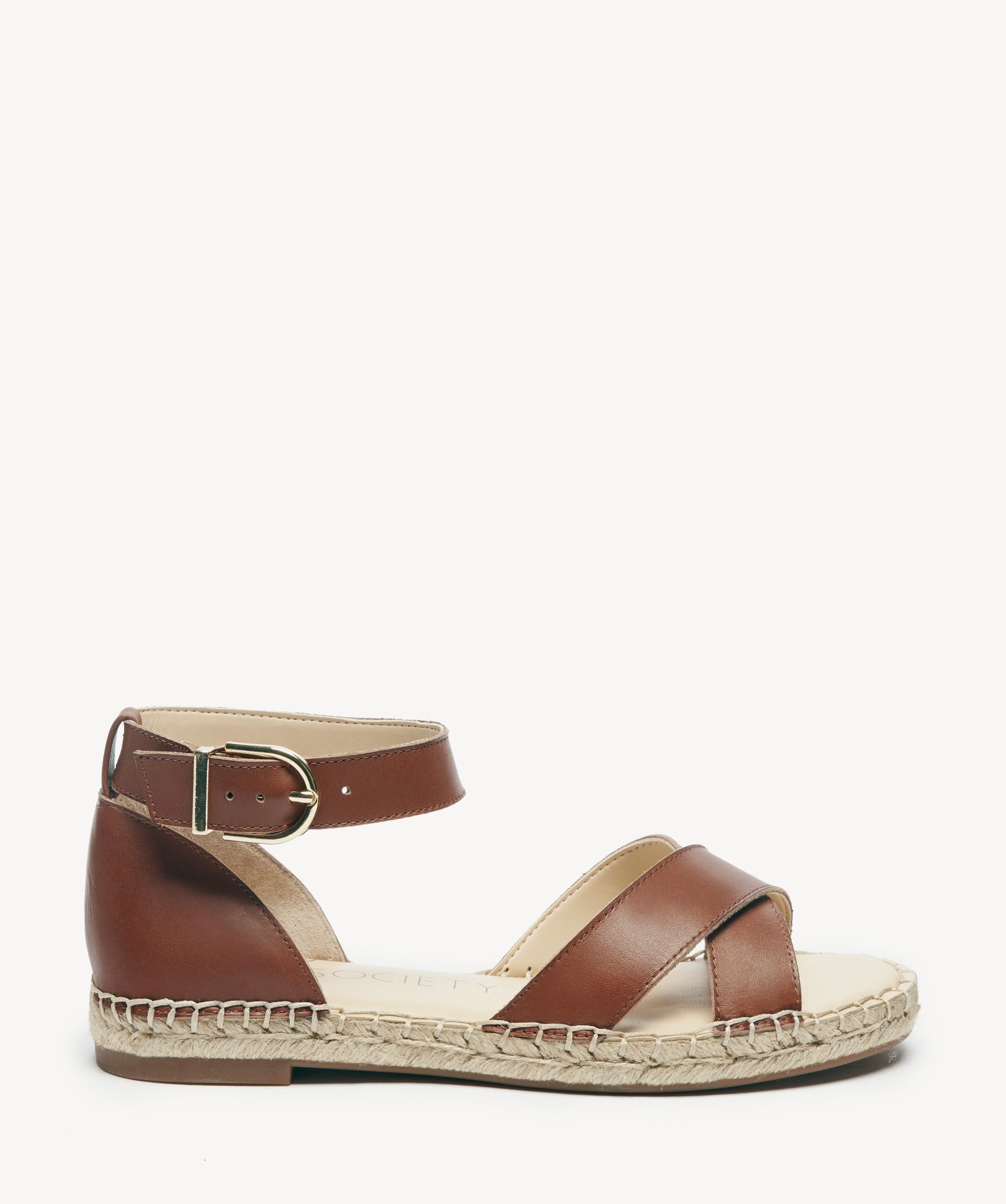 f1100ac410 Sole Society Saundra Espadrille Sandals Summer Cognac