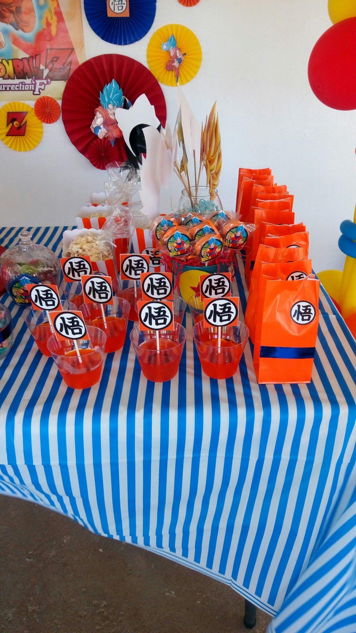 Angelito S Birthday Dragon Birthday Goku Birthday Dragon Party