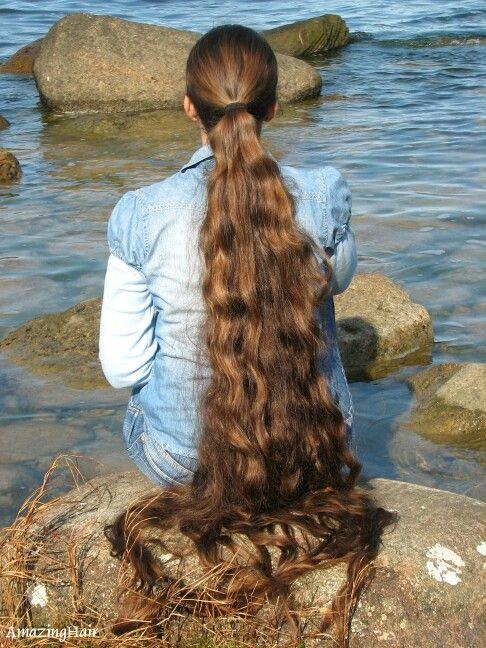 Super very long hair