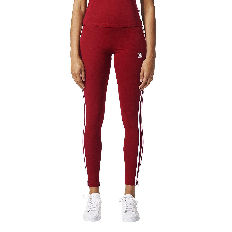 adidas Originals Women's 3 Stripes Leggings at Amazon
