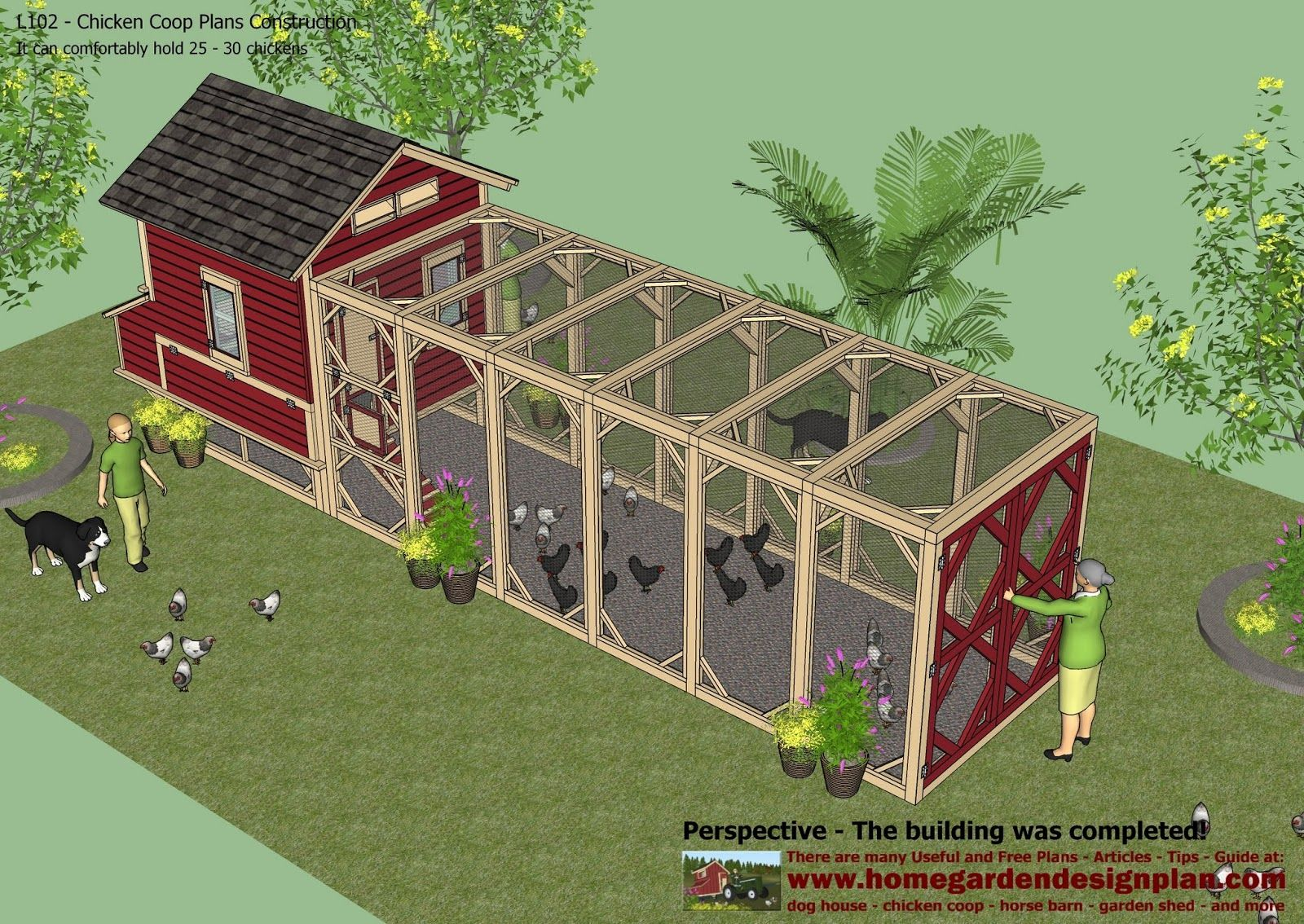 L102 Chicken Coop Plans Construction Chicken Coop Design How To Build A Chicken Coop It C Chicken Coop Plans Chicken Coop Designs Diy Chicken Coop Plans Backyard chicken coop design plans