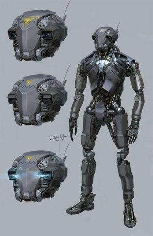 (via concept robots: Concept robots by Long... | brave cadet