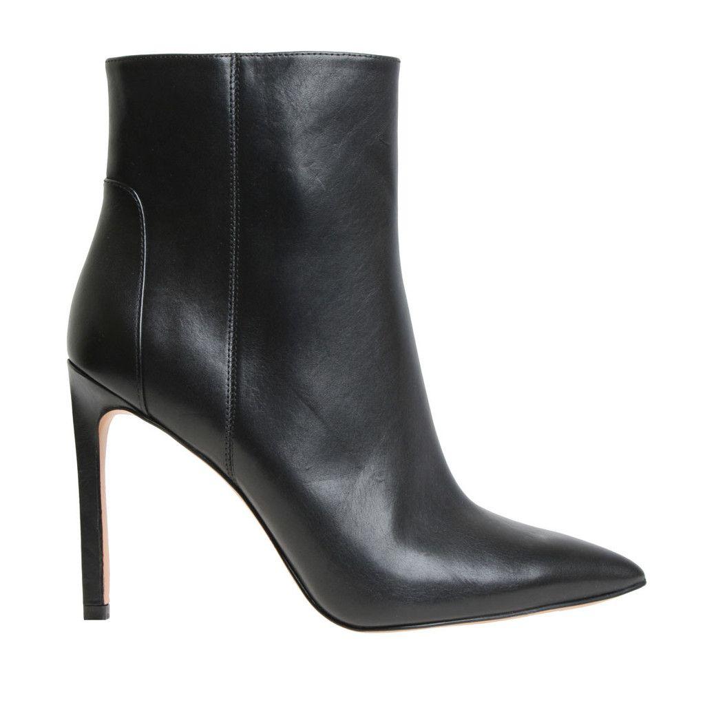 Nine West Tabata ankle boots, black leather, 2015 - 02
