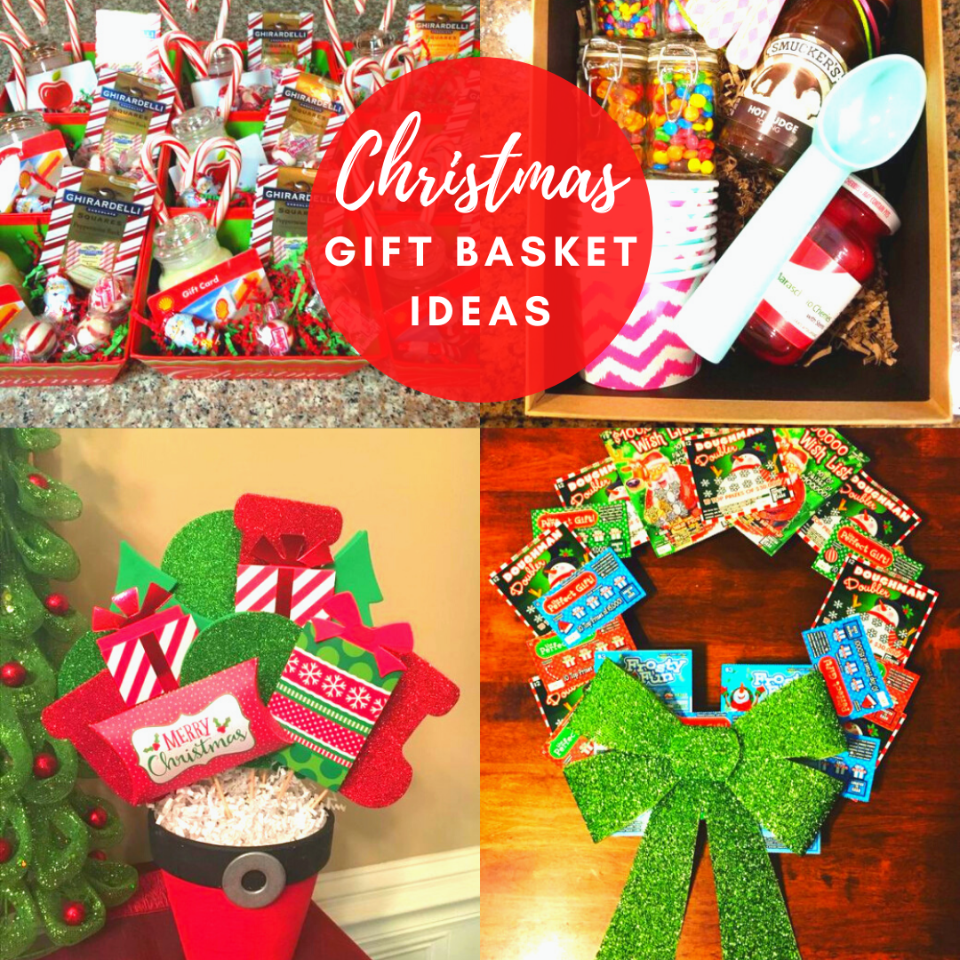 Christmas Gift Basket Ideas For Friends In 2020 Christmas Gift Basket Gift Card Tree Christmas Gift Baskets