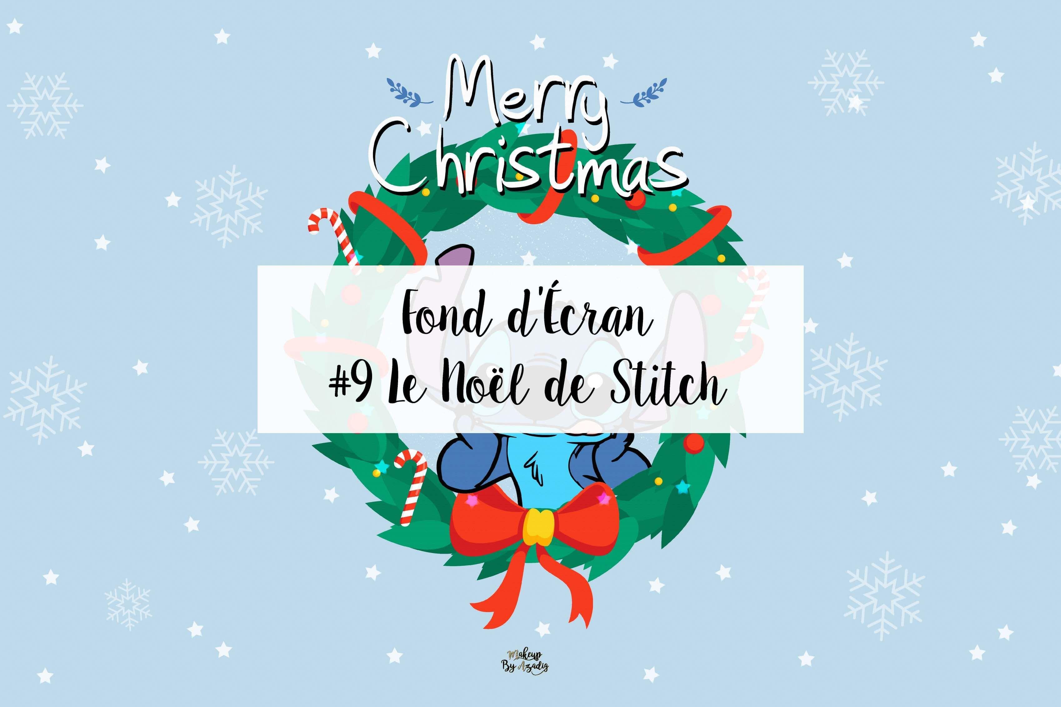 9 Fond D Ecran Disney Stitch Christmas Wallpaper Fond