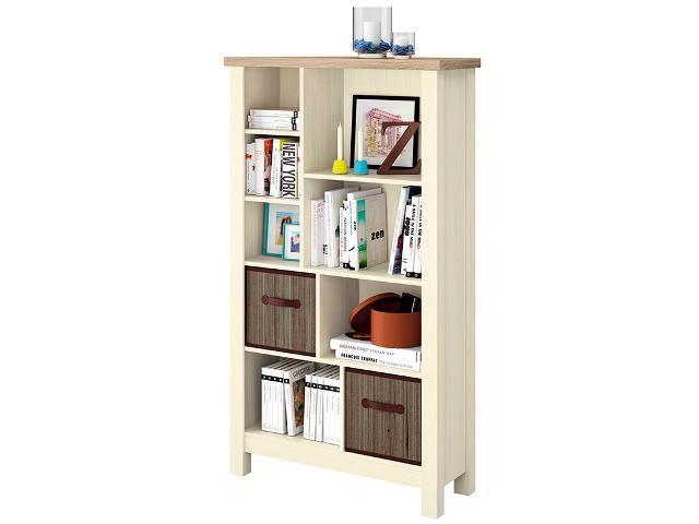 Librerías De Melamina En Catálogo Carrefour Bookcase Shelves Melamine Wood