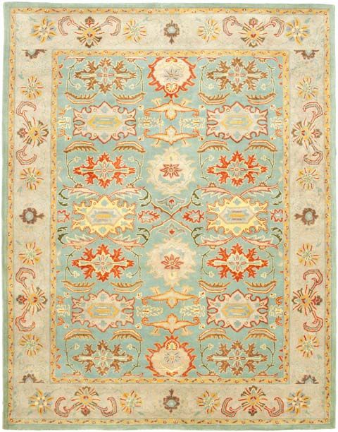 With Rich Luscious Detailing And A Vibrant Feel Safavieh S Heritage Collection Brings Life To Any E Hand Tufted Of Pure Wool Strong Cotton