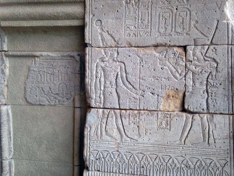 Egyptian temple at The Metropolitan Museum