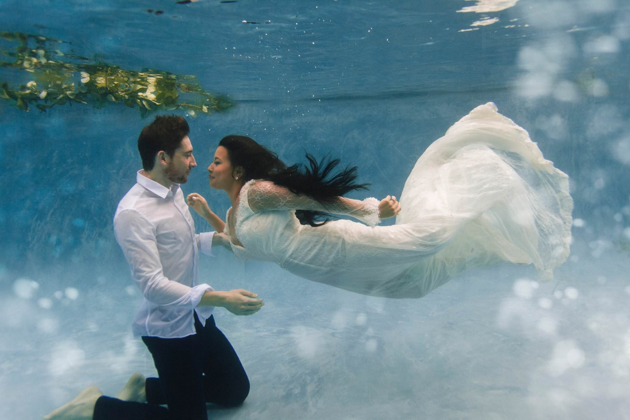 Swimming. Ethereal Green Water Photography | Photography
