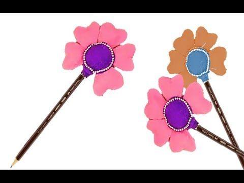 طريقة تزيين أقلام الرصاص Method Of Decorating Pencils Hand Art Art Decor