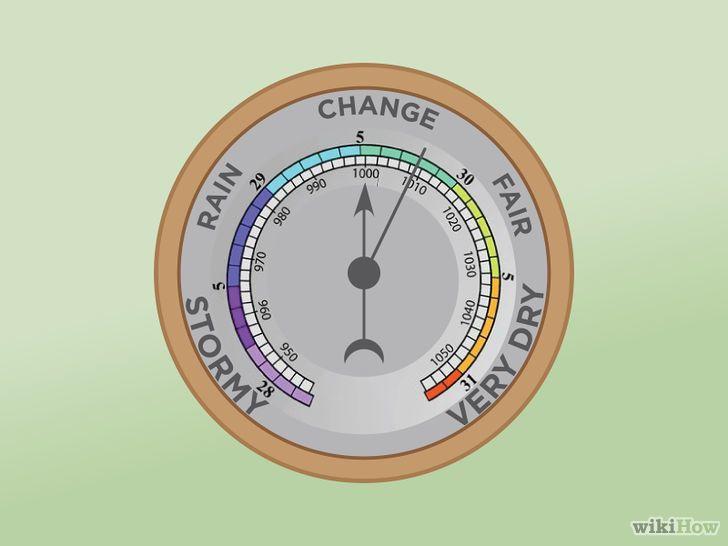 Immagine titolata Set a Barometer Step 1