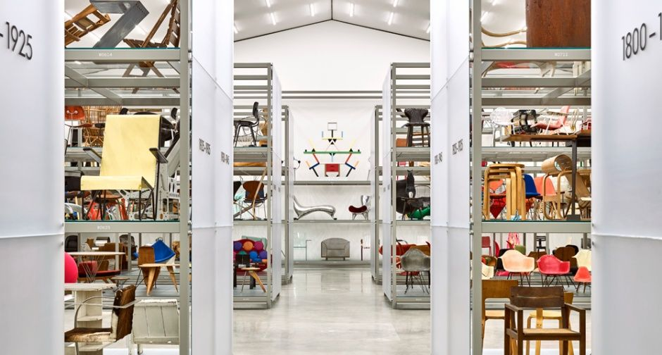 23eced40b8 Dive into the history of design at the new Vitra Schaudepot ...