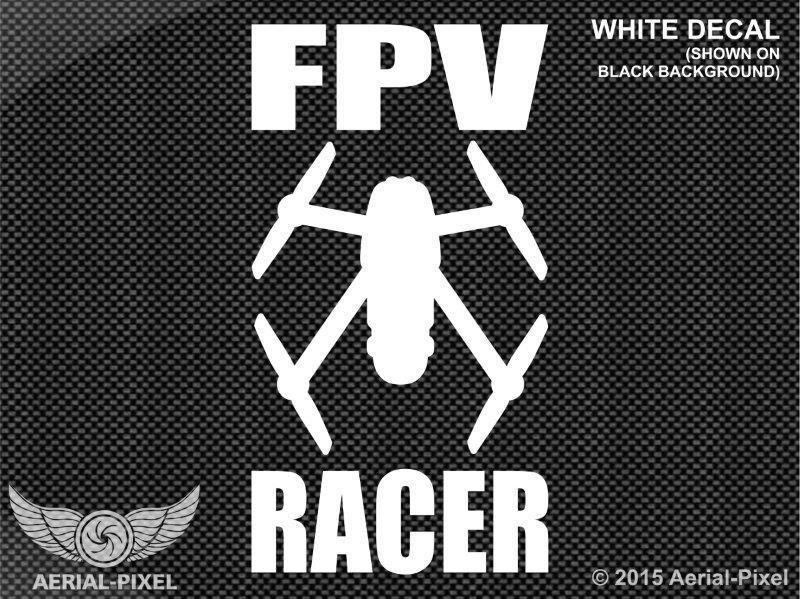 Fpv racer storm racing drone vinyl decal sticker quadcopter rc lumenier progo