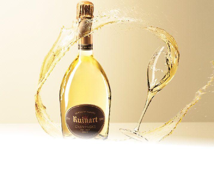 Ruinart Champagne Blanc de Blanc. My favorite champagne!