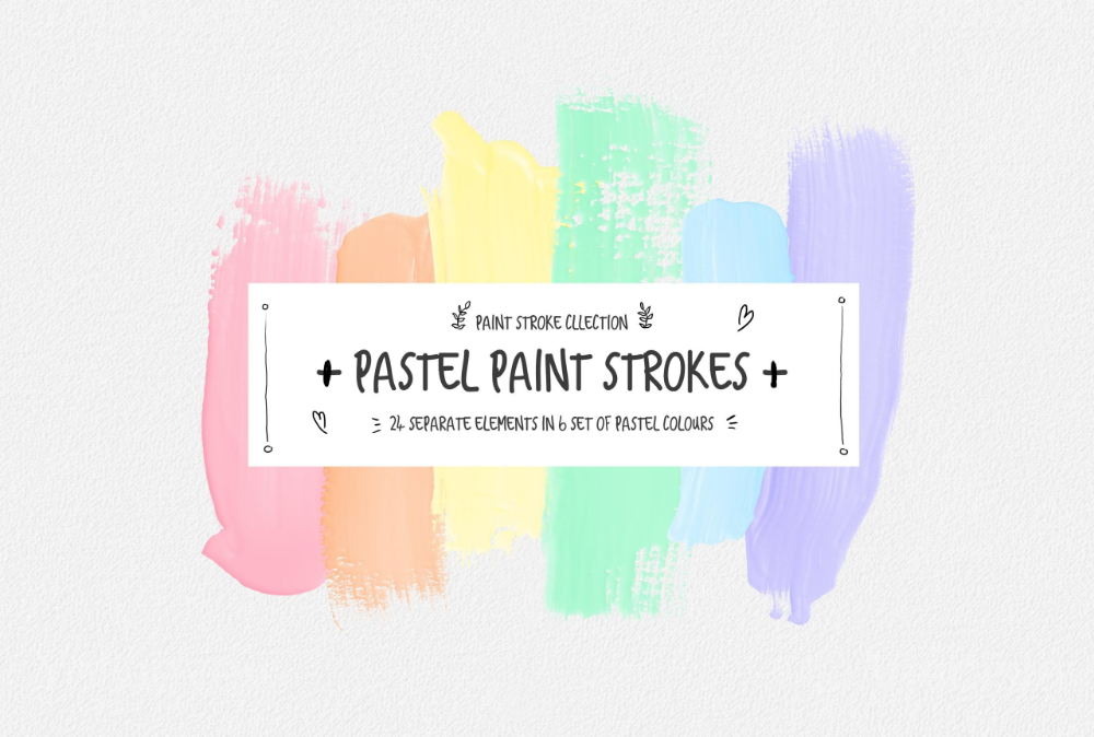 Google Slides Themes Aesthetic Tumblr Background Images Pastel Aesthetic Paint Strokes Aesthetic Tumblr Backgrounds