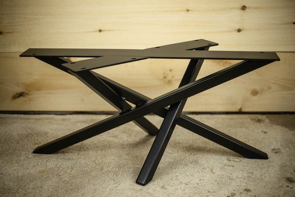Campfire legs legacylumber dining table table campfire