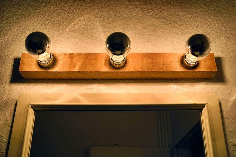 Badezimmer-Lampe / Wandlampe von Tom und Elsa auf DaWanda