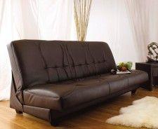 Avanti Faux Leather Sofa Bed  £299.99