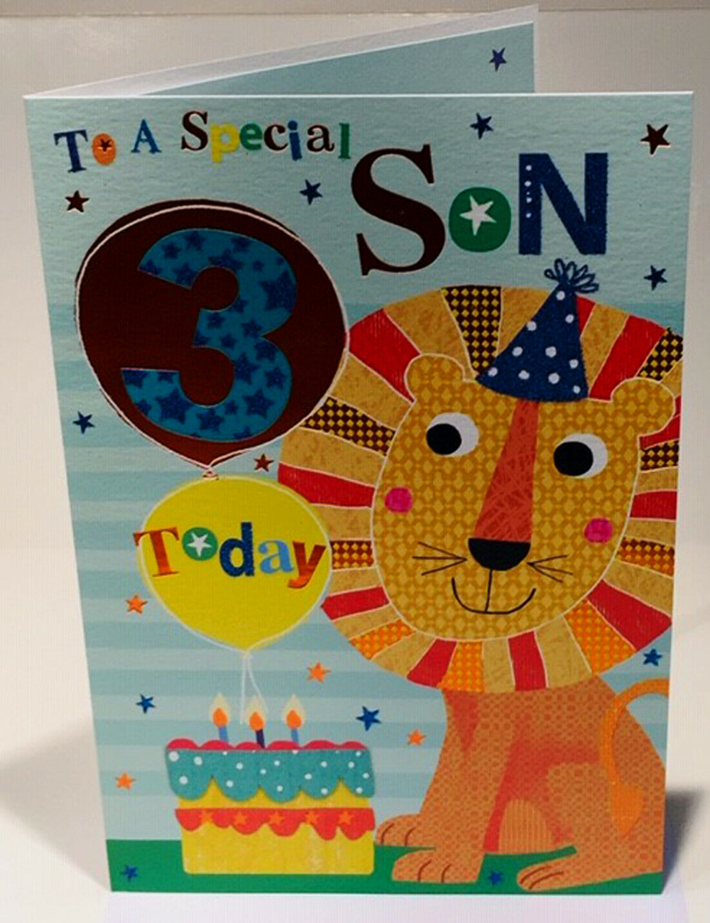 15 x 15 cms 5th Birthday Card For A Special Granddaughter 5 Today