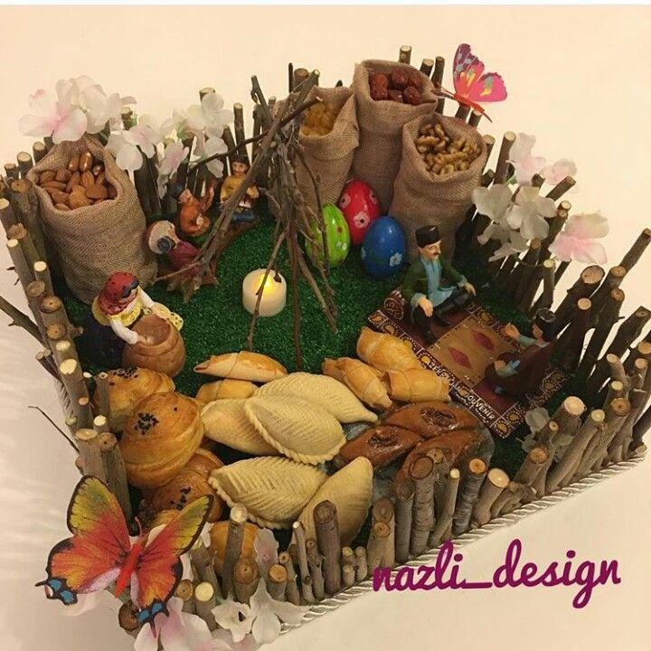 Novruz Bayram Novruz Xoncasi Holiday Diy Diy Holiday Decor Christmas Wreaths