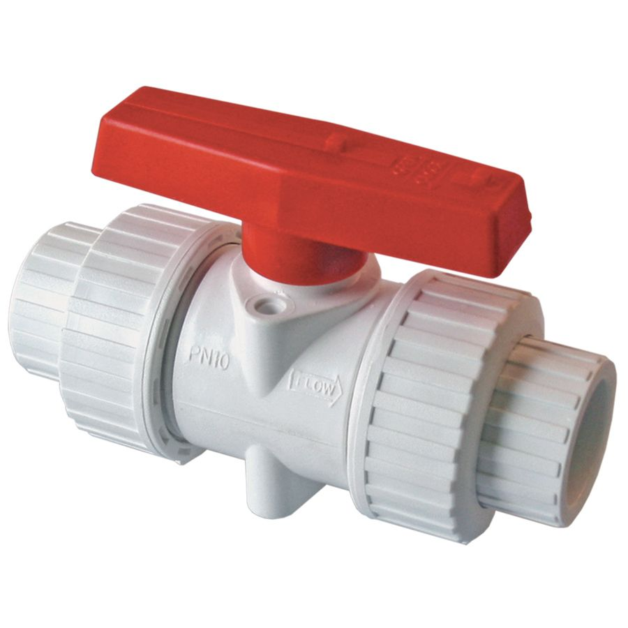 American Valve Pvc Sch 40 1 1 4 In Socket Pvc Ball Valve P200u40114 In 2020 Isolation Valve Home Improvement Plumbing Valves