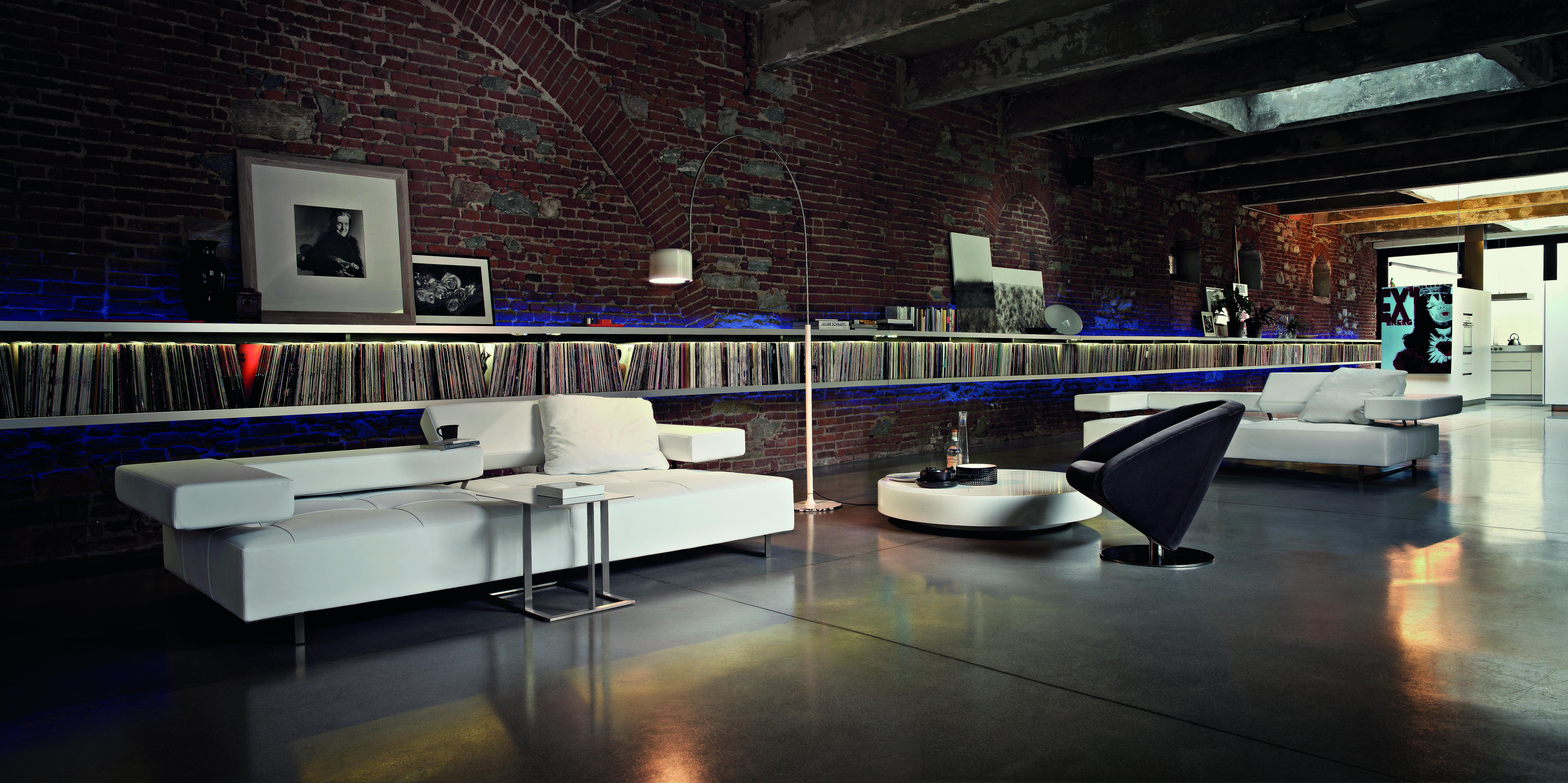 arketipo sofa loft - designermöbel von raum + form nürnberg