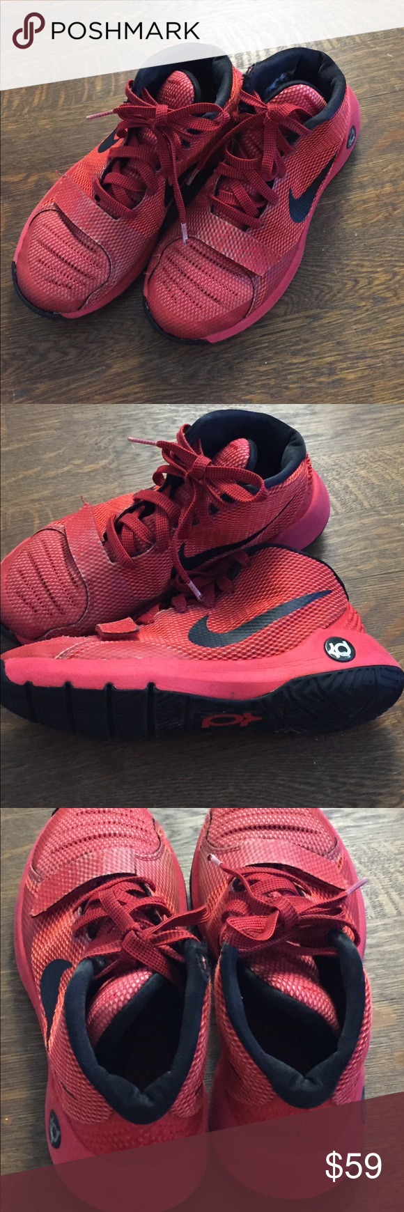 4a82e29b819 Boys Nike shoes size 5.5Y Nike Boys Shoes. Size 5.5 Youth. Color  Red. Used  for a couple of times. In very good conditions. Nike Shoes Sneakers