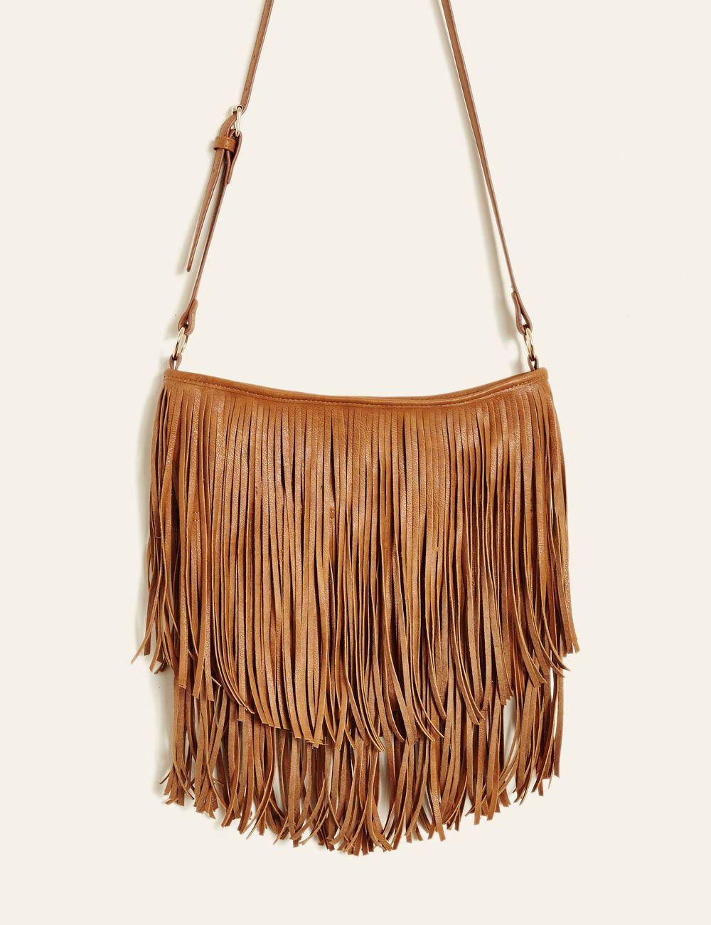 Sac à franges camel femme • Jennyfer   bijoux.....DIY ... 63d5ac16413c