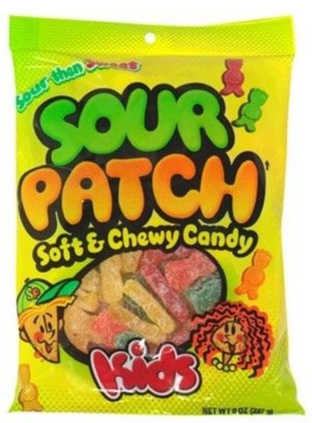 Ttaf Ch 10 They Start Out Sour Which Really Makes Your Eyes Water And Opens Your Taste Buds Only To Be Followed By G Sour Patch Kids Sour Patch Chewy Candy