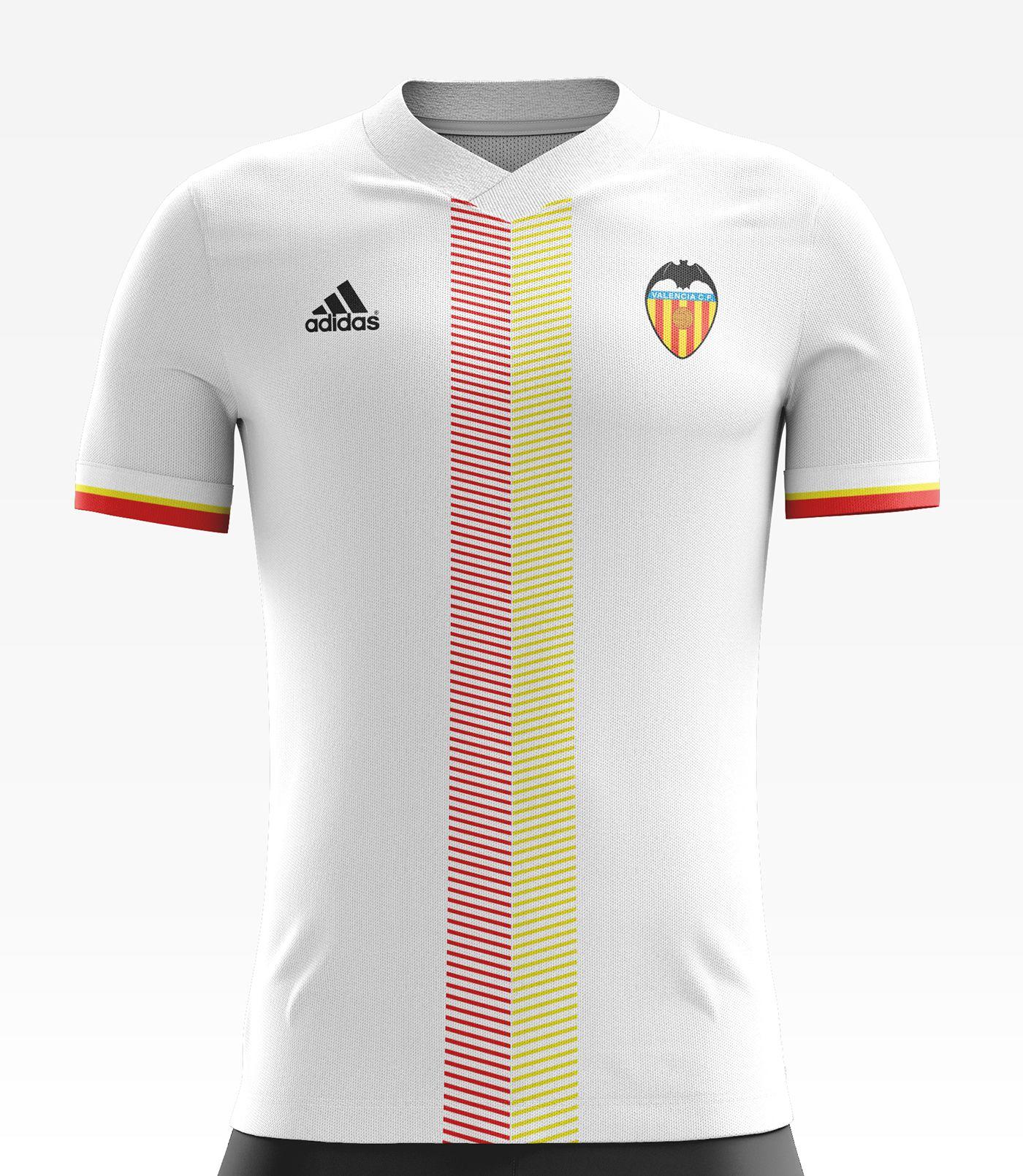 Maillot Domicile Valencia CF Wass