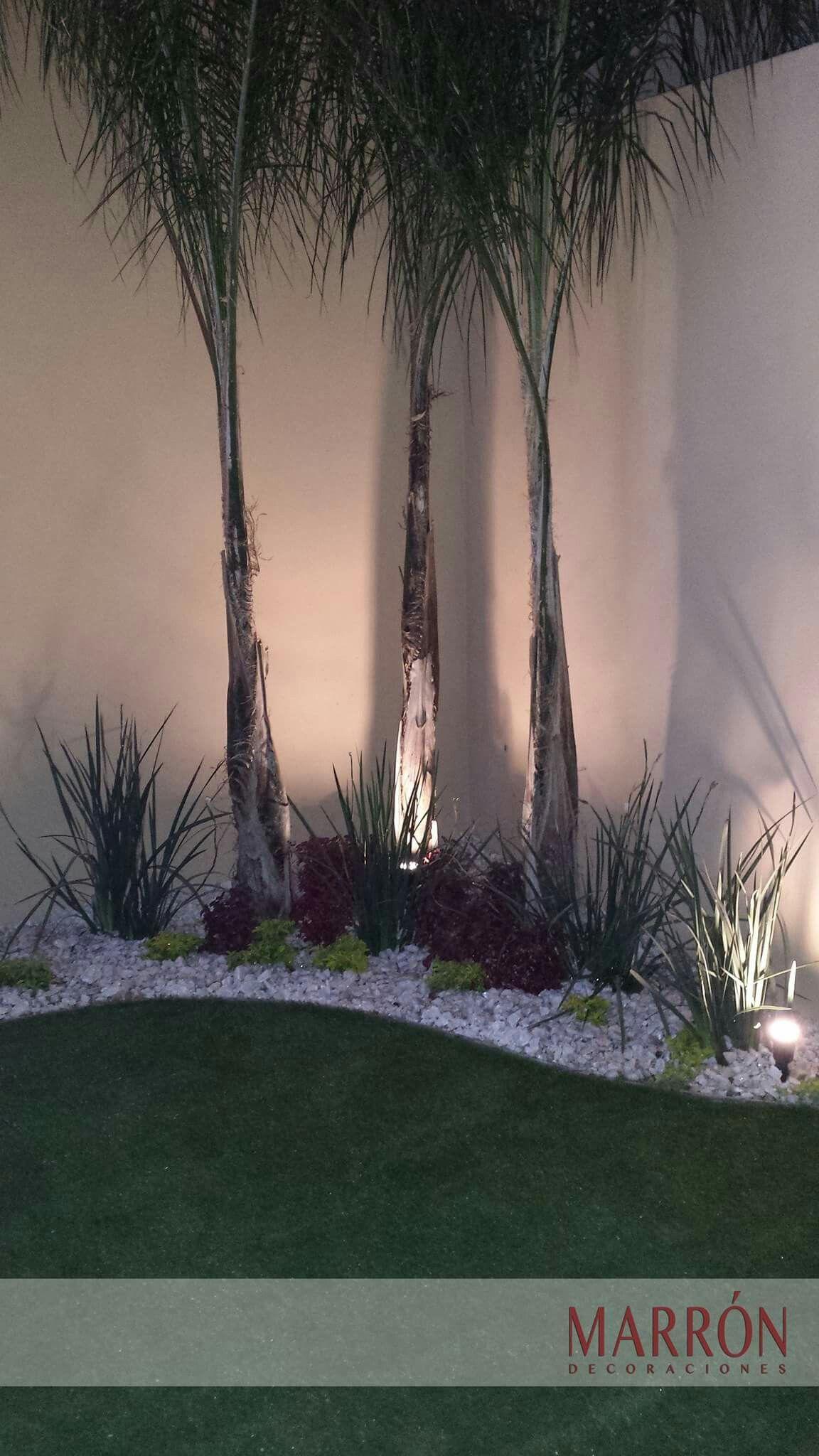 Pasto sint tico marron hermosillo decoraci n pasto for Jardineria exterior con guijarros