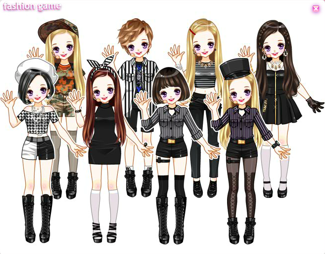 Daum Idols Dress Up Games Anime Art Girl Kawaii Art Anime Chibi