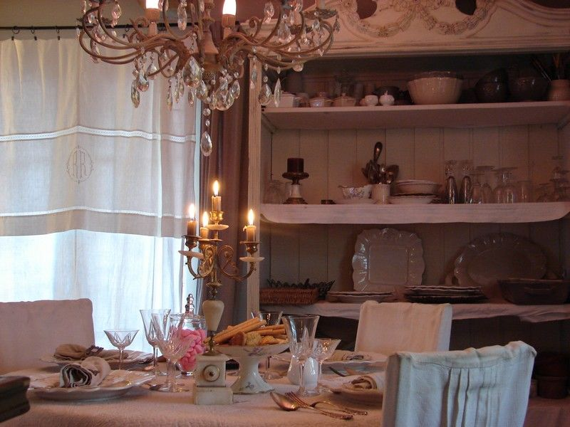 ma petite cuisine shabby chic romantique deco charme home sweet home pinterest cuisine. Black Bedroom Furniture Sets. Home Design Ideas