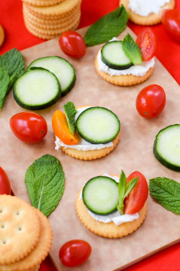 Jenis Jenis Appetizer : jenis, appetizer, Sweet, Savory, Topping, Ideas, Crackers, Crackers,, Spring, Appetizers,, Cracker, Toppings