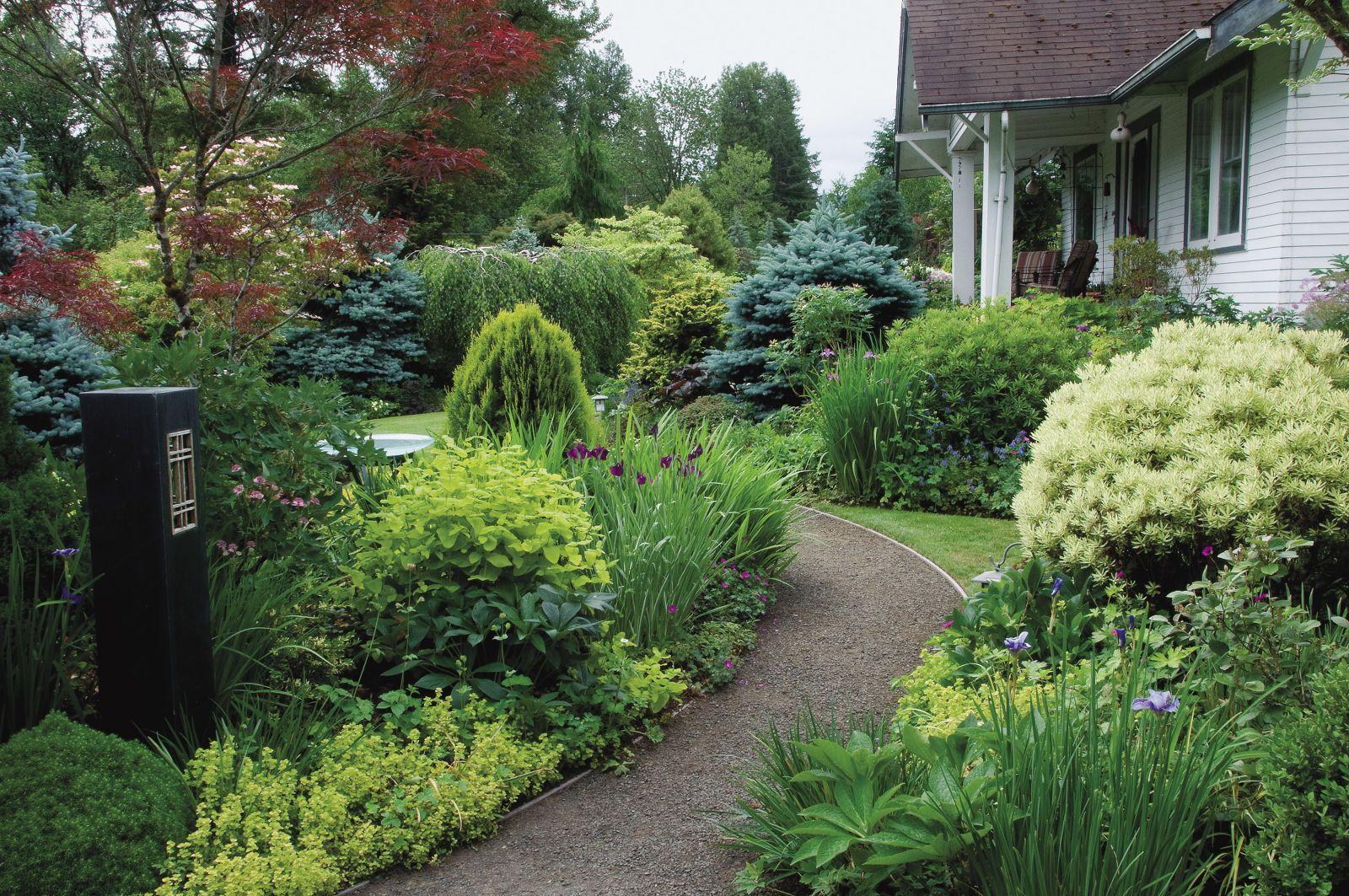 Two Secrets to Great Garden Design | Garden design | Garden, Garden ...