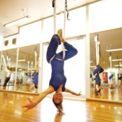 has anyone tried suspension yoga  everything dance