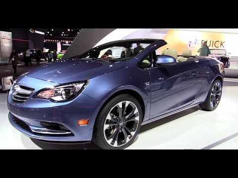 2016 Buick Cascada Convertible Walkaround Video Review Buick Cascada Buick Convertible