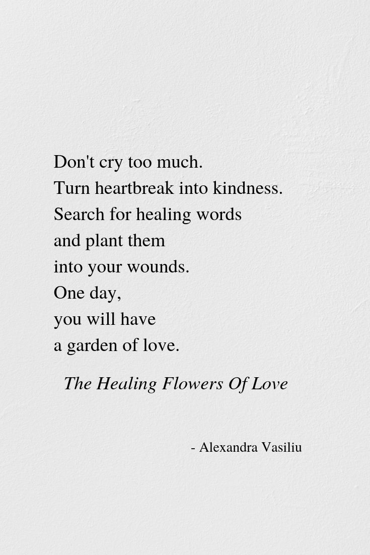 Let Your Heart's Pain Find An Exit | Alexandra Vasiliu - Bestselling author of Healing Words