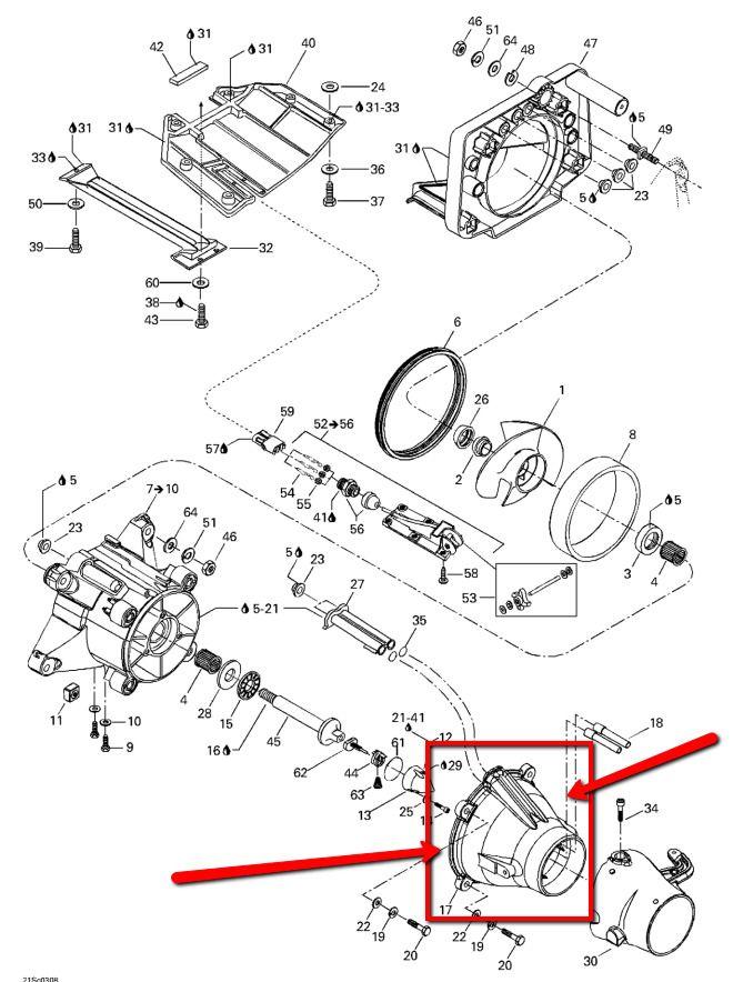 NOS OEM SeaDoo Venturi Jet Nozzle For 2000 2001 2002 2003