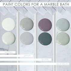 What Is It About A Marble Bathroom That Is So Hard To Resist The Beautiful Stone Elicits A Sort Of Ze Marble Bathroom Painting Bathroom Bathroom Color Schemes