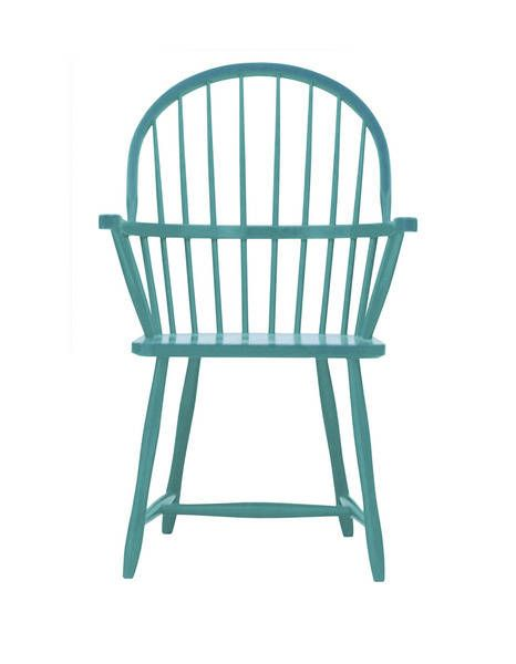 Pretty Blue Windsor Chair