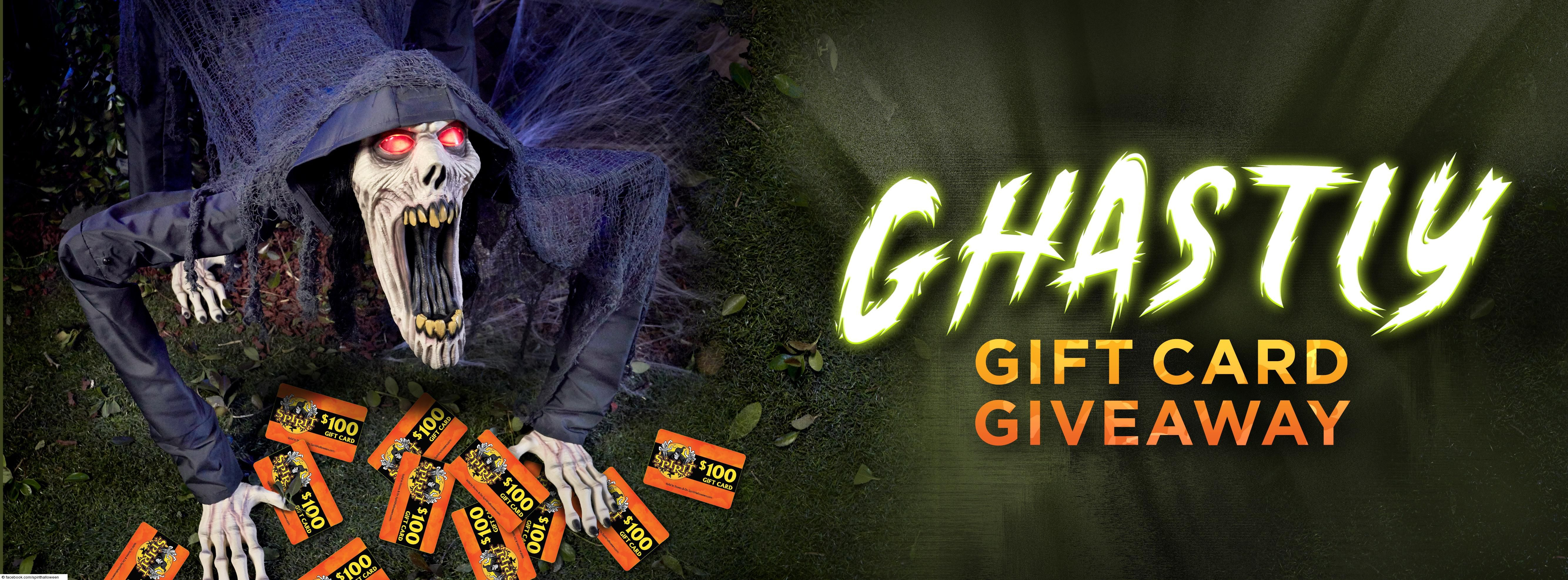 Ghastly Gift Card Giveaway in 2020 Gift card giveaway