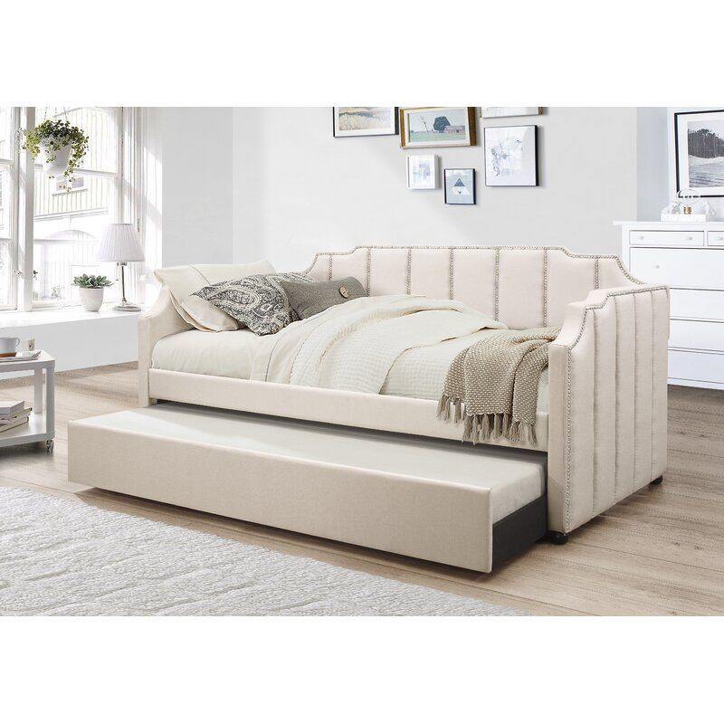 Shaffer Twin Daybed With Trundle With Images Daybed With