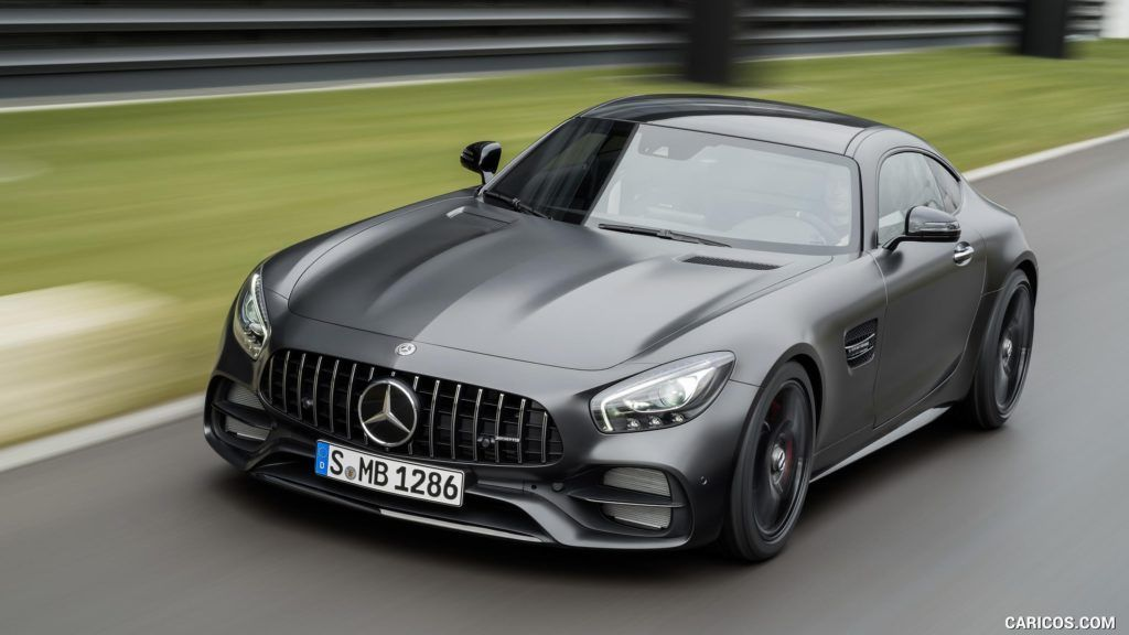2018 Mercedes Amg Gt C Coupe Edition 50 Color Graphite Grey With
