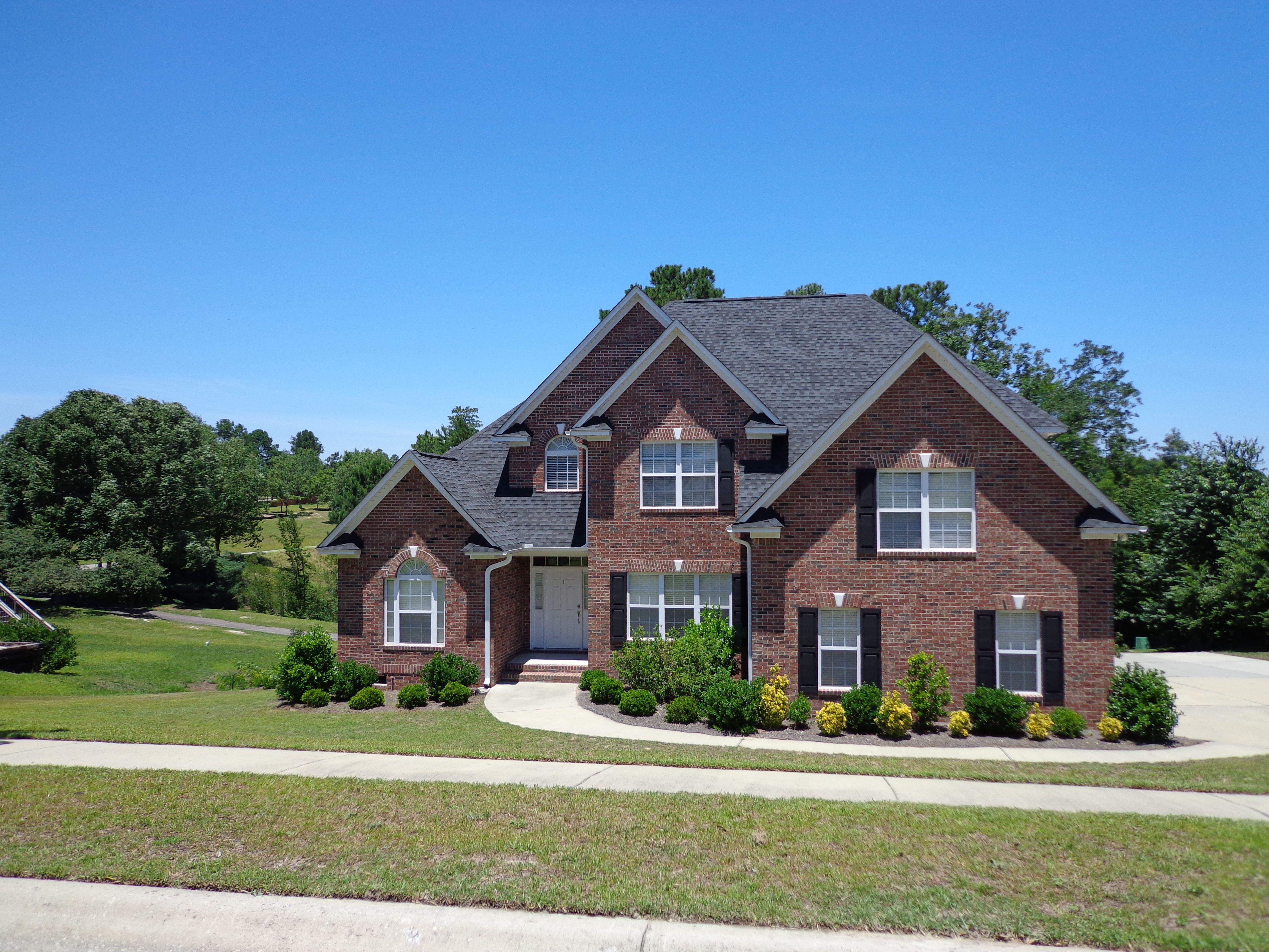 All Brick Home House exterior
