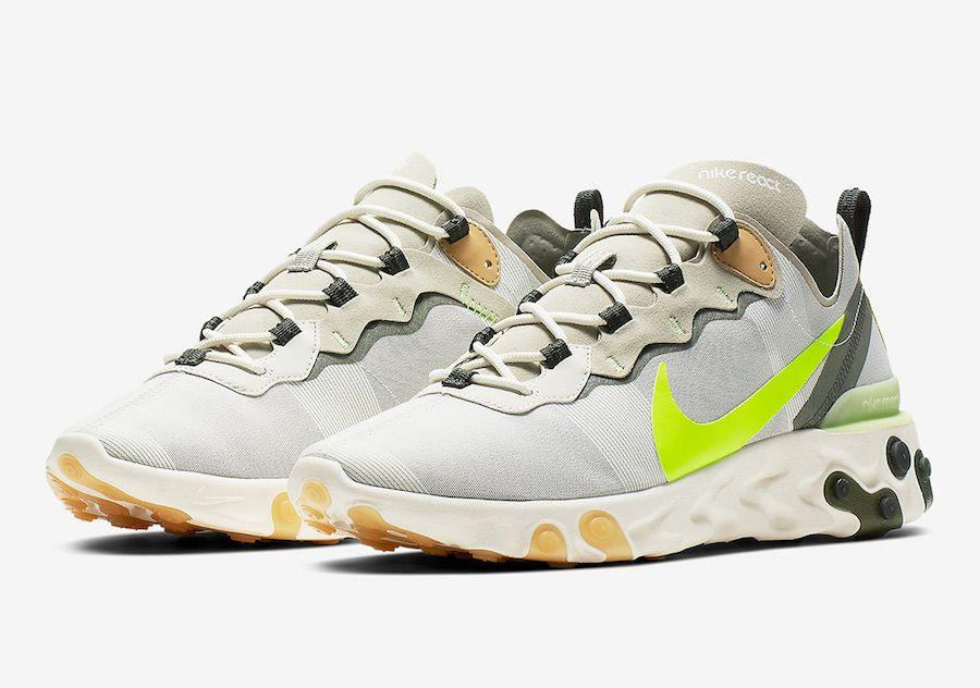 26f5ffeeb3575 Nike React Element 55 BQ6166-009 Release Date | SNEAKERS | Sneakers ...